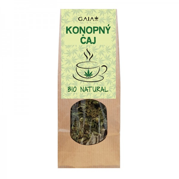 GaiaHemp Konopný čaj 35g natural