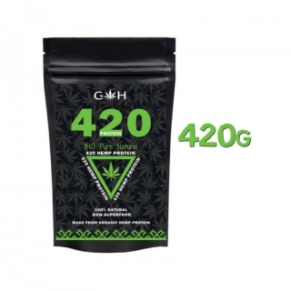GH supplements Konopný proteín 420 Pure Natural 420g